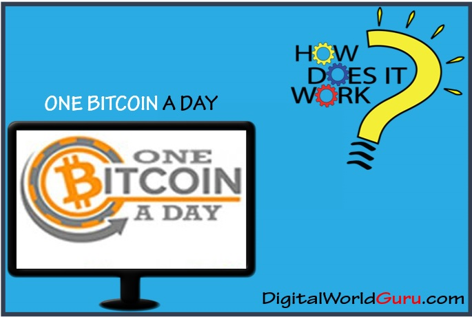how one bitcoin a day works