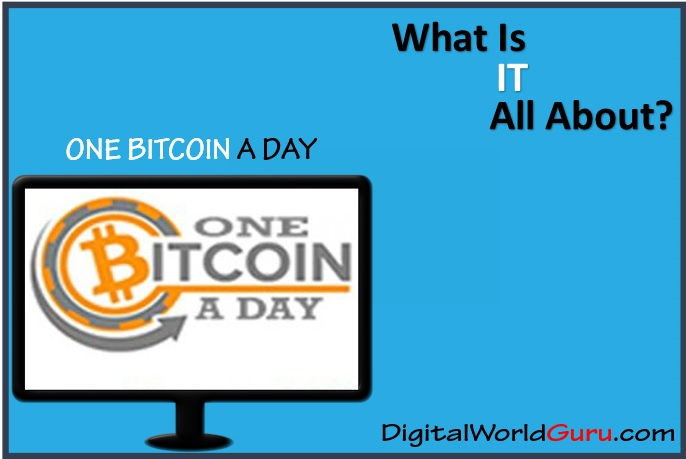 what is one bitcoin a day
