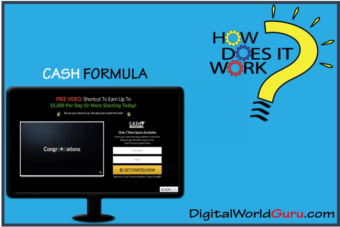 how cash formula works