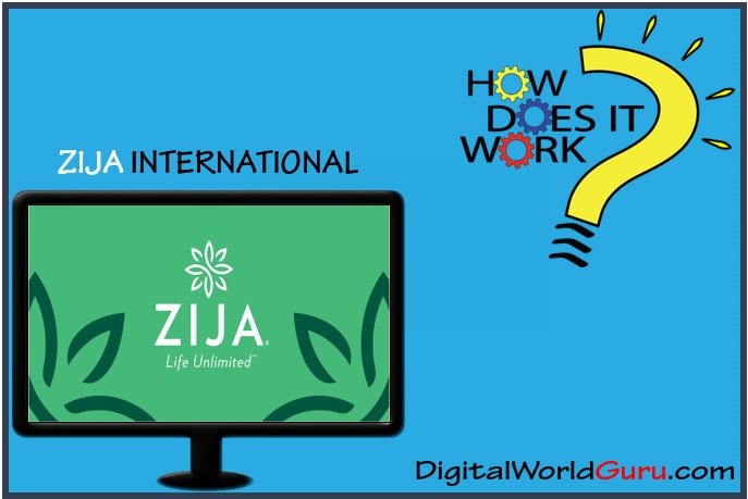 how zija international works