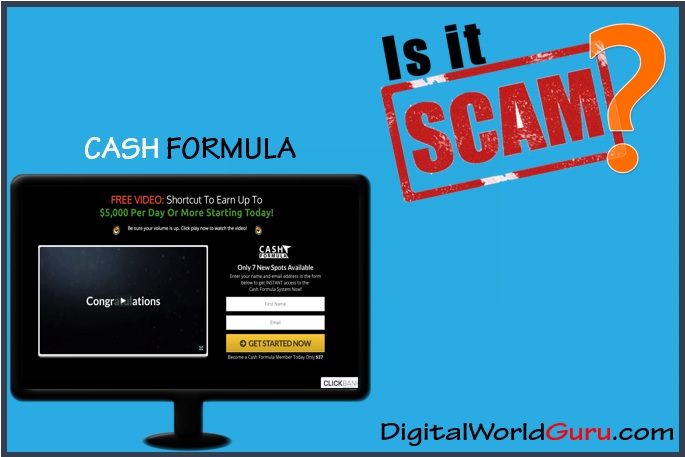is cash formula a scam