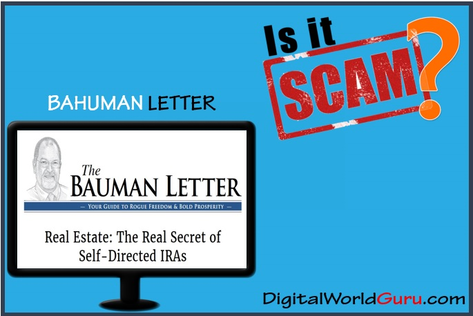 is the bauman letter a scam