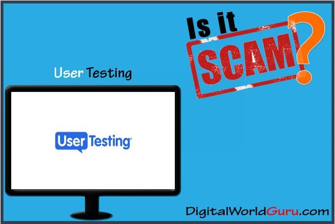 is usertesting scam