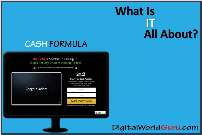 what is cash formula