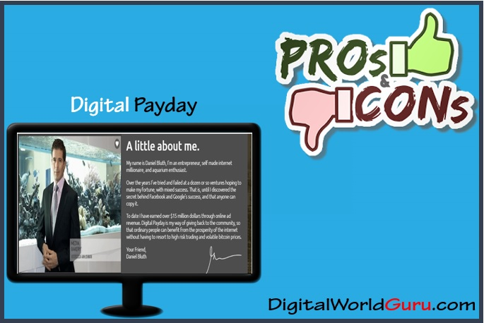 digital payday pros and cons