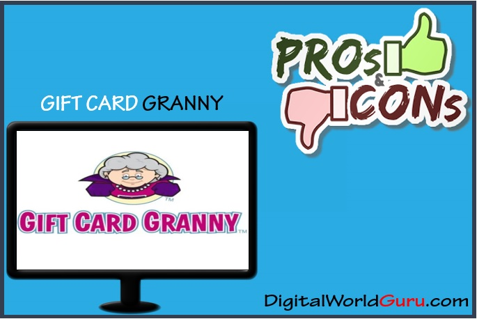 gift card granny pros and cons