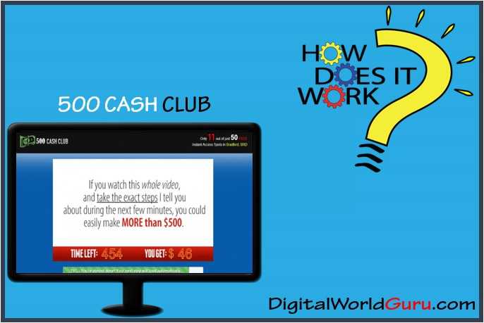 how 500 cash club works