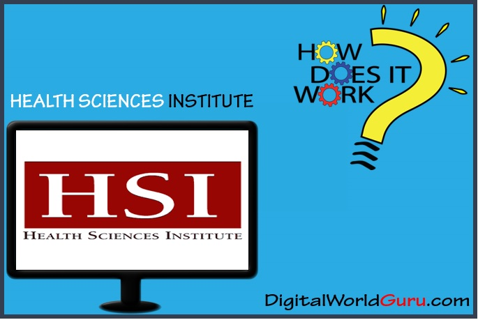 how health science institute works