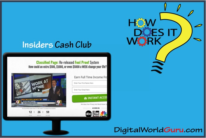 how insiders cash club works