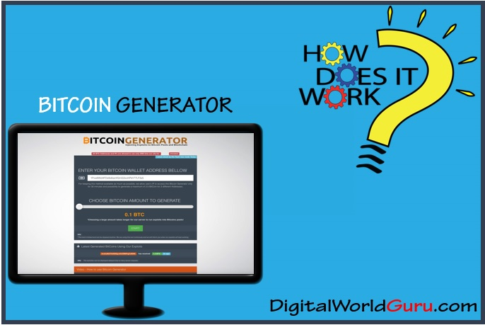 how the bitcoin generator works