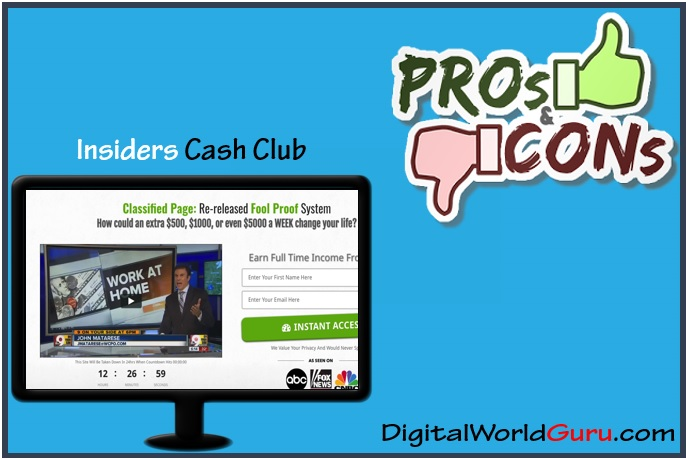 insiders cash club pros and cons