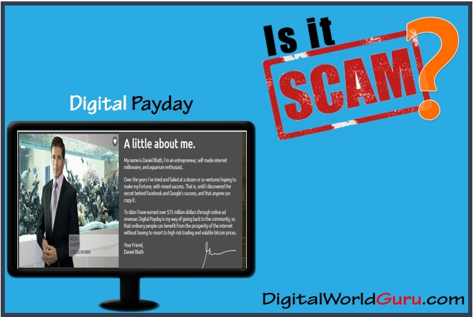 is digital payday scam