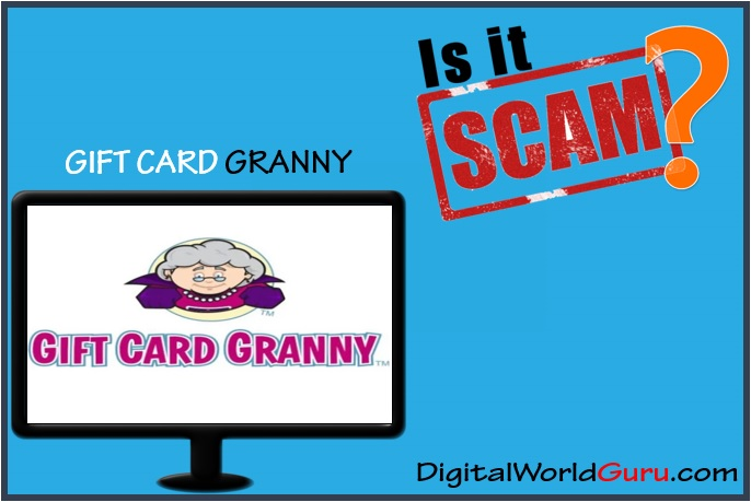 is gift card granny a scam