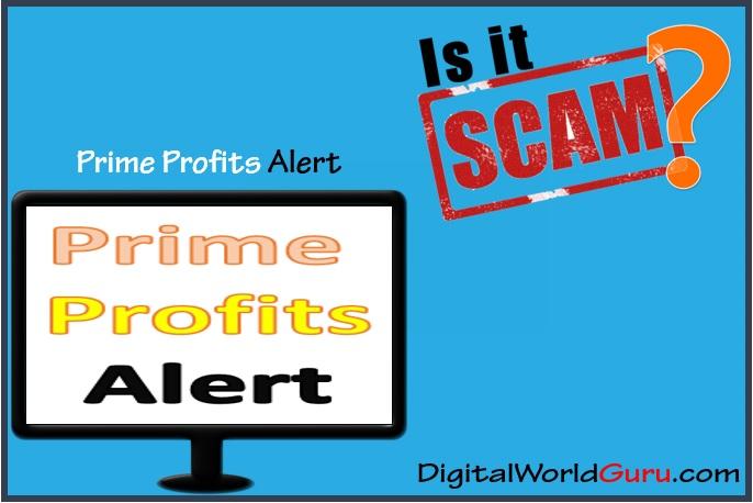 is prime profits alert scam