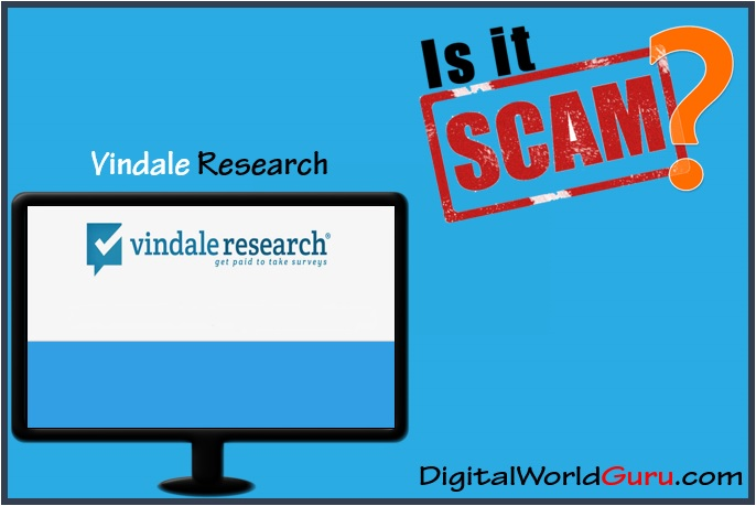 is vindale research a scam