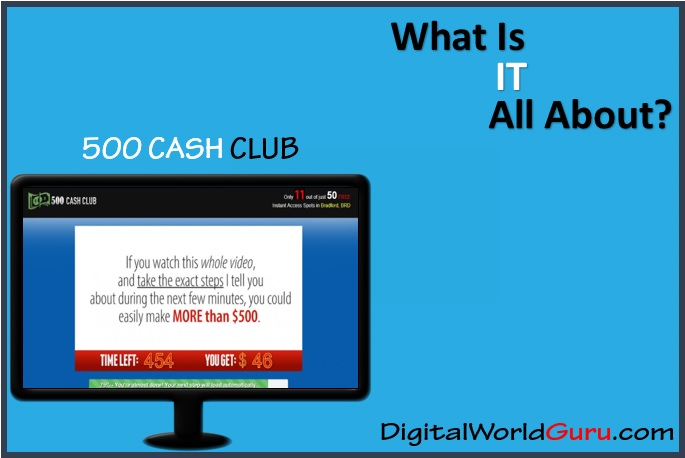 what is 500 cash club
