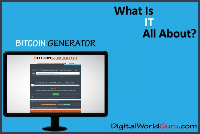 what is the bitcoin generator