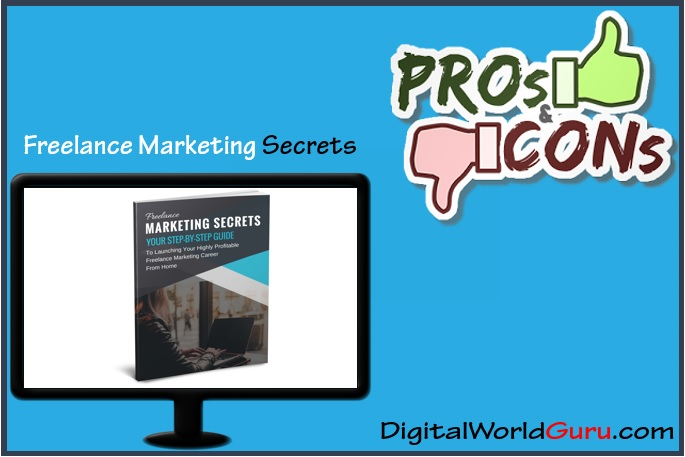 Freelance Marketing Secrets pros and cons