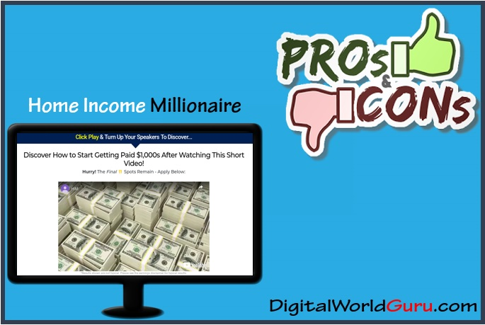 home income millionaire pros and cons