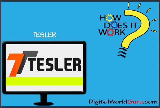what is tesler app