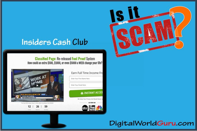 is insiders cash club scam